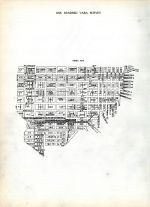 Index Map, San Francisco 1909 Block Book - Surveys of Fifty Vara - One Hundred Vara - South Beach - Mission